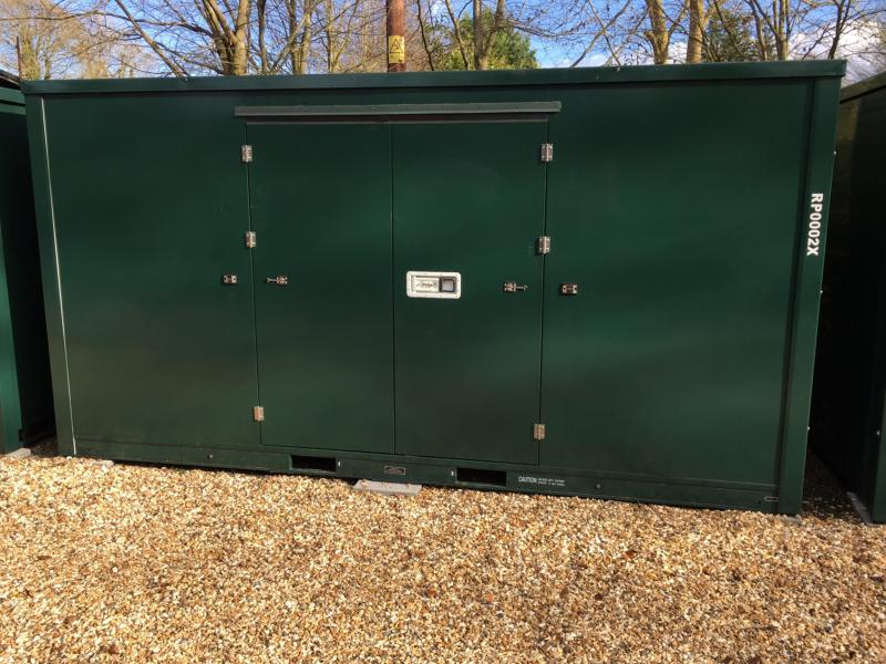 15ft Container self storage units closed